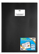 Tiger 20 A3 Pocket Presentation Display Book - Black by Tiger 301689