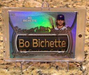 2021 Topps Sterling Bo Bichette 1/1 Superfractor Game-Used Bat Nameplate BBP-BB1