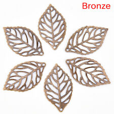 33219 Antique Style Bronze Tone Alloy Motto Connector Jewelry Finding 5pcs