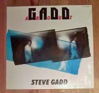 Steve Gadd – Gaddabout Vinyl LP Album 33rpm 1984 Electric Bird – K28P 6314