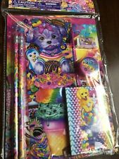 Lisa Frank Set Purple Puppy Sweets Ice Cream Candy Notebook Pencils UNOPENED