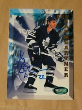 Ken Baumgartner Toronto Maple Leafs autographed card