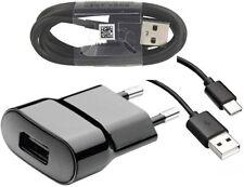 Original Handy Ladegerät Ladekabel Kabel für Samsung Galaxy A3 (2017) Schwarz