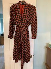 vintage A. Sulka Men's Silk Robe