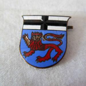 Altes Mützenabzeichen Abzeichen Wappen emailliert (RT130)