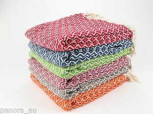 TEARDROP Turkish Towel Peshtemal Sarong Bath SPA Beach Hammam Gym 100% cotton