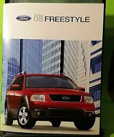 Factory 2005  Ford Freestyle Dealership factory  Sales Brochure