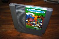 Jeu LES SCHTROUMPFS pour Nintendo NES