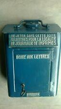 boite lettre poste PTT briefkasten industriel facteur postier train vintage SNCF