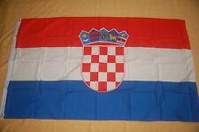 Kroatien Fahne Flagge Hissflagge Hissfahne 90 x 150 cm