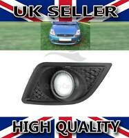 FORD FIESTA FRONT LEFT FOG LIGHT BUMPER GRILL COVER 2006-2008
