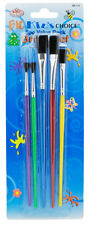 Royal & Langnickel Big Kids Choice Art Paint, Glitter, Glue Brush Set of 5 Sizes