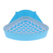 Ferret Litter Tray Chinchilla Dust Sand Corner Toilet Hamster Type 1 - Blue