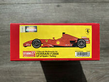 1/20 Studio 27 Ferrari F2008 Spain/Turkey GP Multimedia Kit with Barcode Decals