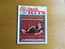 SMASH HITS MAGAZINE AUG 1984 HOWARD JONES - THE SMITHS - DEPECHE MODE 1980's POP