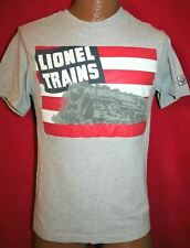 Lionel Trains T-Shirt 1940/'s US Flag /& Steam Engine Catalog Cover Hudson Awesome
