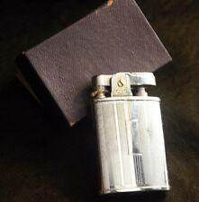 Vintage CMC Chromed Lighter Japan New In Box