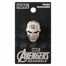 "IRON MAN ""HEAD PEWTER LAPEL PIN"" Marvel Comics NEW IN PACKAGE"
