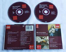 MONTEVERDI Vespro(1610)/GABRIELI/... LEDGER-WILLCOCKS Holland 2CD EMI (1995)