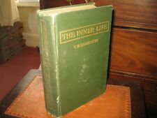 The Inner Life CW Leadbeater Annie Besant  First Ed  Printed 1917 THEOSOPHEY