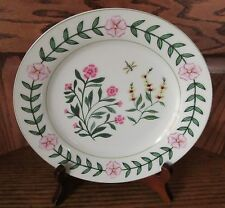 New 8 Plates  Godinger Home Essentials 947 Flowers Butterfly Dragonfly Botanical