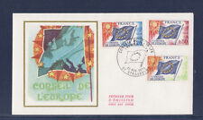 enveloppe 1er jour   conseil de l Europe  Strasbourg     1975
