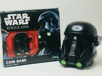 Star Wars Rogue One DEATH TROOPER COIN BANK 4 Inch Tall Coin Bank.