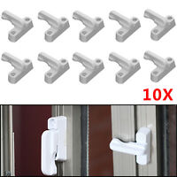 10pcs Sash Jammers UPVC Windows Door Swing Locks Added Security Lock