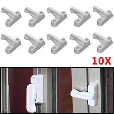 10Pcs T Type Window Safety Locks UPVC Door Sash Jammer Security Restrictor Lock
