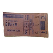 Queen Madison Sqaure Garden 11/17/1978 