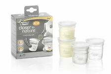 Tommee Tippee Closer to Nature 4 x Milk Storage Pots - 42301071