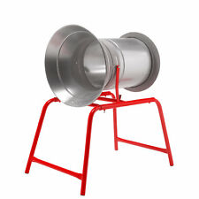 NEW 34cm Christmas Tree Netting Wrapping Machine Funnel Netter, Xmas - Red Legs