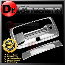 2015-17 GMC Sierra 2500+3500 Triple Chrome Tailgate w/ Keyhole+Camera hole Cover