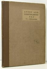 SCARCE W L Richardson Afoot And Lighthearted Walking SIGNED MOUNTAINEERING 1915