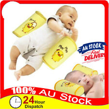 Infant Newborn Baby Anti Flat Roll Sleep Positioner Head Support Cot Pillow