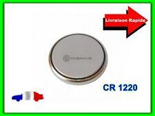 Pile CR1220 CR 1220 3V Lithium pour Coque Clé Plip Télécommande Electronique