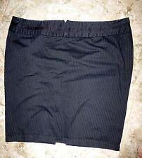 Hot Topic Torrid Black Pinstripe Mini Short Pencil Skirt Club 26 Goth Rockabilly