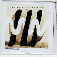 (EH823) Zebra And Snake, Sweetest Treasure - 2012 DJ CD