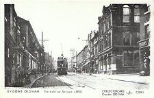 Lancashire Postcard - Bygone Oldham - Yorkshire Street c1910 - Ref 2803