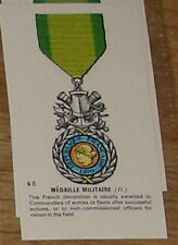#45 medaille militaire (fr) Medal card