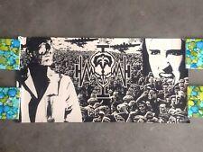 1988 Original! Queensryche Operation Mindcrime promo poster Kiss Ac/Dc Van Halen