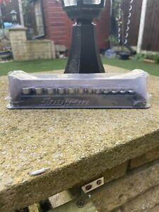 """Snap on 1/4"""" FDX Shallow Socket Set Flank Drive Xtra 5-15mm NEW!!..'k"""
