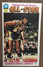 1976-77 Topps Kareem Abdul-Jabbar All Star #126