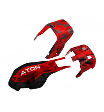 HobbyMarket69 Traxxas Aton Red & Black Camo Fiberglass Body / Canopy Set