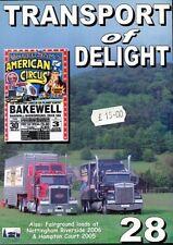 Funfair Fairground Cicus Transport DVD Video: US Trucks Peterbuilt Mack ETC