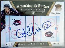 Cam Atkinson 2011-12 Crown Royale Scratching the Surface Auto