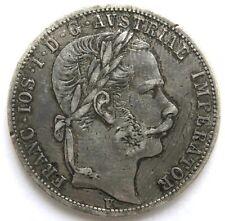 1 Florin 1866 V, Franz Joseph I. (1848-1916)