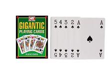 A4 Gigante Carte Da Gioco Grande Jumbo carte deck grande famiglia Festa BBQ tempo di attività