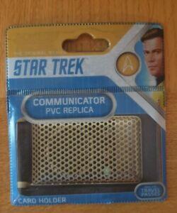 Star Trek Replica communicator Card Holder/travel Pass Holder