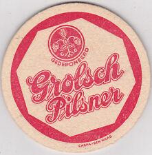 alter Bierdeckel  Grolsch Pilsner NL